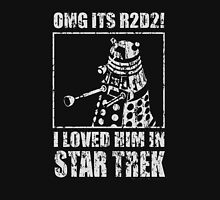 R2D2i i loved him in star trek Unisex T-Shirt
