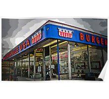 burgerville usa Poster