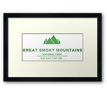 Great Smoky Mountains National Park, Tennessee Framed Print