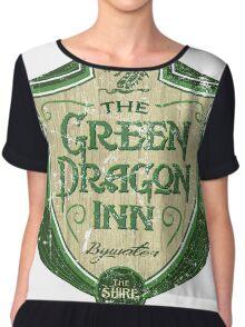 The Green Dragon Inn Chiffon Top