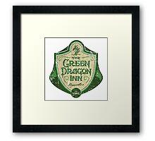 The Green Dragon Inn Framed Print