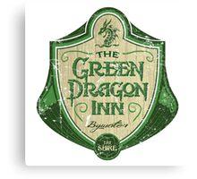 The Green Dragon Inn Canvas Print