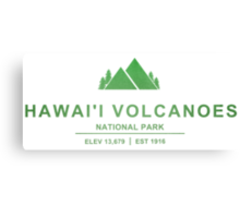 Hawai'i Volcanoes National Park, Hawaii Canvas Print