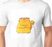 grumpy chubby cat Unisex T-Shirt