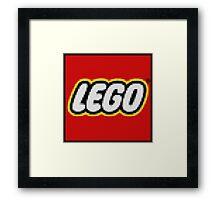 Legoception Framed Print