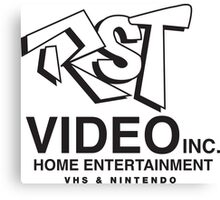 RST Video Canvas Print