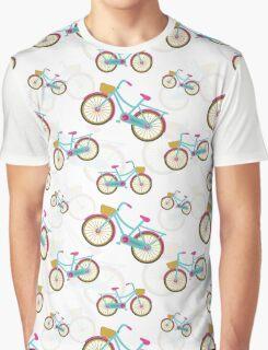 Retro Bicycle Graphic T-Shirt