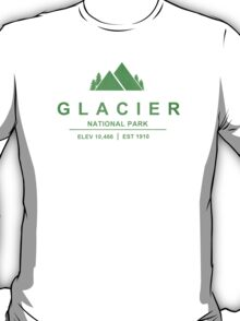 Glacier National Park, Montana T-Shirt