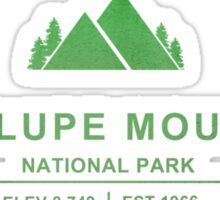 Guadalupe Mountains National Park, Texas Sticker