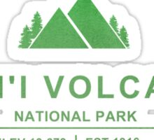 Hawai'i Volcanoes National Park, Hawaii Sticker