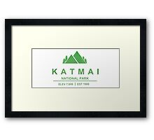 Katmai National Park, Alaska Framed Print