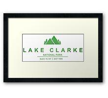 Lake Clark National Park, Alaska Framed Print