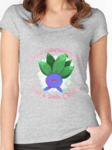 Just a little Oddish Women's Fitted Scoop T-Shirt
