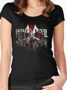 Resident Evil Women's Fitted Scoop T-Shirt