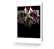 Resident Evil Greeting Card