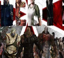 Resident Evil Sticker