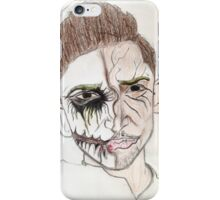 Cartoon Snapchat Filter Dude iPhone Case/Skin