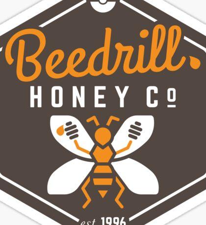 Beedrill Honey Company Sticker