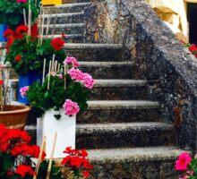 Grecian Flowers  Sticker