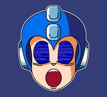 Mega Man Blue Screen Unisex T-Shirt