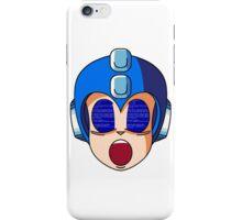 Mega Man Blue Screen iPhone Case/Skin