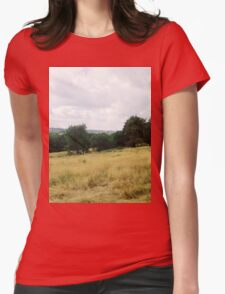 Landscape Womens Fitted T-Shirt