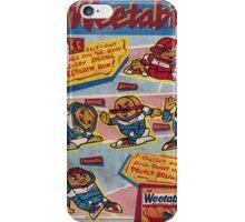 Weetabix Advert 1 iPhone Case/Skin
