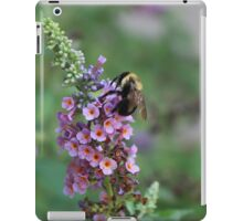 Bumble on a Butterfly Bush iPad Case/Skin