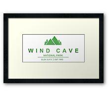 Wind Cave National Park, South Dakota Framed Print