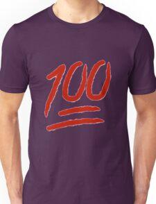 100 Emoji Logo Unisex T-Shirt