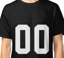 Team Jersey 00 T-shirt / Football, Soccer, Baseball Classic T-Shirt
