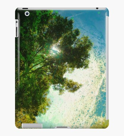 In the Shade of trees iPad Case/Skin