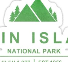 Virgin Islands National Park, Virgin Islands Sticker