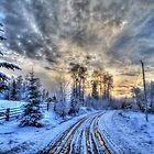 Cariboo Sunrise II by Skye Ryan-Evans