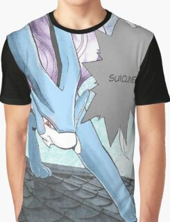 Suicune Manga Edit Graphic T-Shirt
