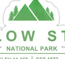 Yellow Stone National Park, Wyoming Sticker