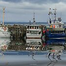 Three at the dock by Jan Pudney