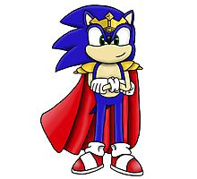 King Sonic the Hedgehog Photographic Print