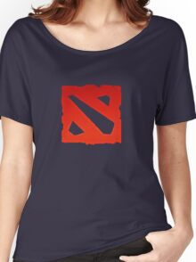 dota 2 logo Women's Relaxed Fit T-Shirt