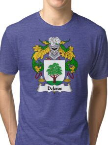 DeJesus Coat of Arms/Family Crest Tri-blend T-Shirt