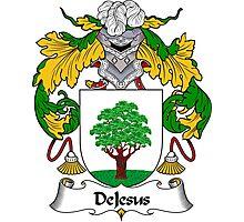 DeJesus Coat of Arms/Family Crest Photographic Print