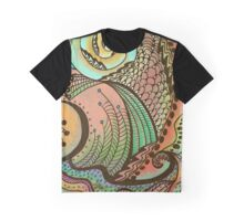 Cornucopia Pattern Graphic T-Shirt