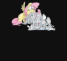 Fluttershy Barfing Bunnies Unisex T-Shirt