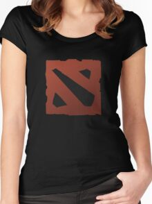 dota 2 logo Women's Fitted Scoop T-Shirt