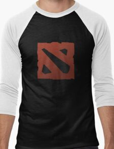 dota 2 logo Men's Baseball ¾ T-Shirt