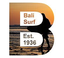 Bali Surf Est. 1936 (Squared) by TMDesigns