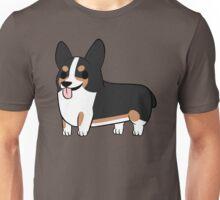 Blackhead Tricolor Corgi Unisex T-Shirt