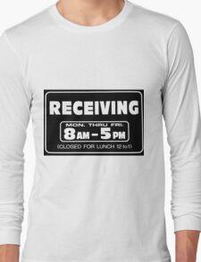 Receiving 8-5 Balck/White Long Sleeve T-Shirt