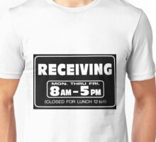 Receiving 8-5 Balck/White Unisex T-Shirt