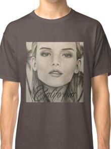California- Pencil Portrait Classic T-Shirt